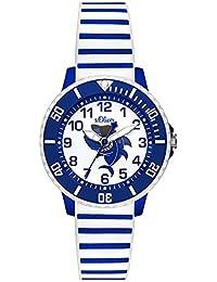 s.Oliver Unisex Kinder-Armbanduhr SO-3499-PQ