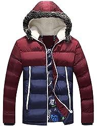 iBaste Abrigo de Invierno Winter Jacket Capuchado Casual para Hombre