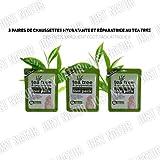 3 x TEA TREE & PEPPERMINT INTENIVE TREATMENT FOOT PACK DEEP MOISTURISING by Tee Tree