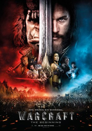 WARCRAFT - German Imported Movie Wall Poster Print - 30CM X 43CM Brand New
