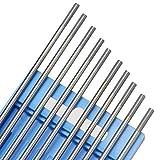 10 Stück WIG Wolfram-Elektroden WC20 - 2,4 x 175 mm Thoriumfrei