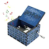 FOONEE Harry Potter Caja de música, Cajas de Madera Tallada a Mano, Caja de...