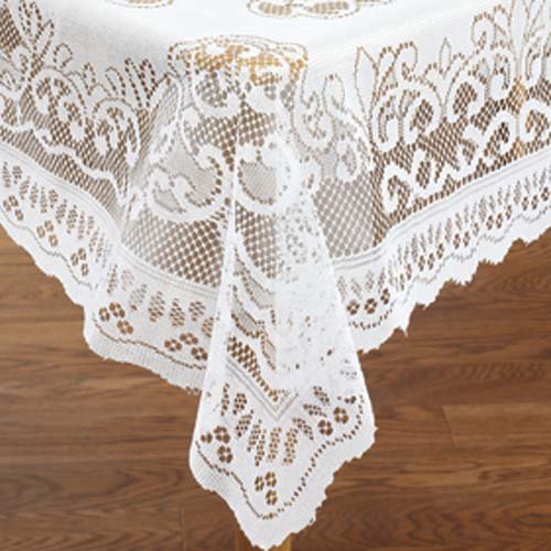 LACE TABLECLOTH RECTANGLE (54 X 72) by BW Products -