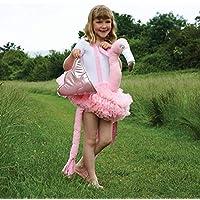 Flamingo Weste Kinder Kostüm Overall Vogel Flamingokostüm Kleid Flamingoweste