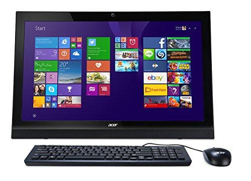'Acer Aspire Z1–6212.16GHz N354021.51920x 1080pixels Écran tactile Noir–Ordinateur de bureau All in One (N3540, PC, Intel® Pentium®, 1920x 1080pixels, DVD Super Multi DL, L2)
