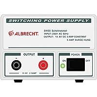 Albrecht SW 35–Adapter DE Puissance & Wechselrichter (Innen, AC auf DC, Radio, weiß)