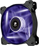 Corsair CO-9050023-WW Air Series SP120 LED 120mm  Low Noise High Pressure LED Fan Single Pack, Purple