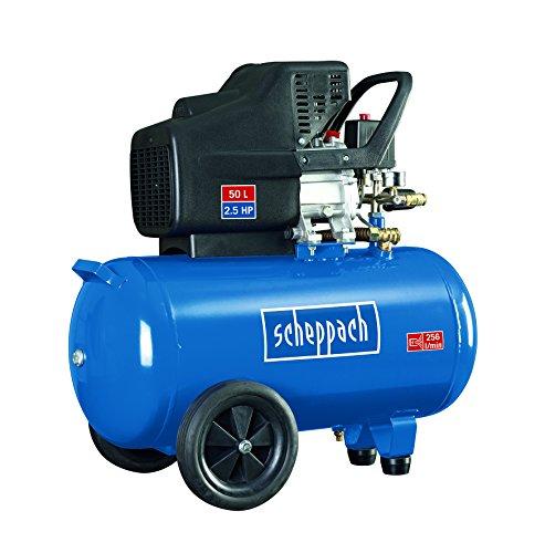 Preisvergleich Produktbild Scheppach Kompressor HC51, 1 Stück, Blau;Silber;Schwarz;, 5906107901