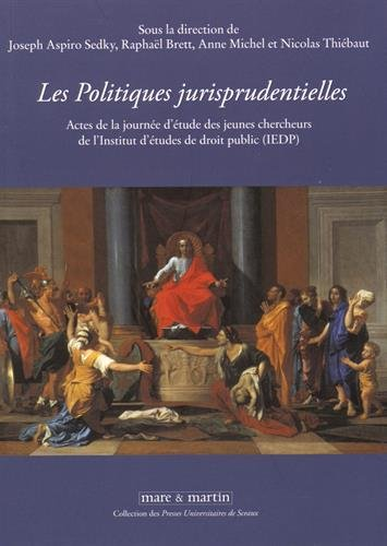 Les politiques jurisprudentielles: Actes de la journée d'étude des jeunes chercheurs de l'Institut d'études de droit public (IEDP).