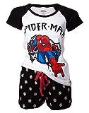 Spider-man Shoots Web Pigiama bianco/nero M