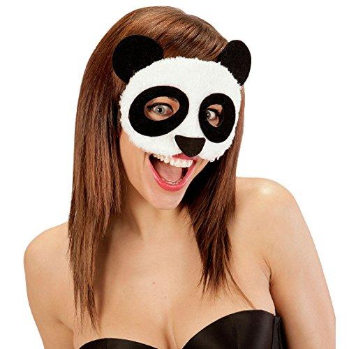 Panda Maske Tiermaske Pandabär Cro Pandamaske Bärenmaske Erwachsene