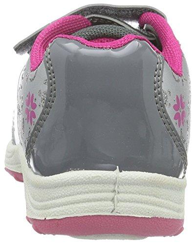 Die Eiskönigin - Girls Kids Athletic Sport, Scarpe da ginnastica Bambina Grigio (Grau (Pew/Sil/GRY 188))