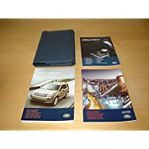LAND ROVER FREELANDER II 2 OWNERS MANUAL HANDBOOK c/w WALLET (2006 - 2011) - 3.2L PETROL & 2.2L DIESEL - OWNER'S HAND BOOK MANUAL