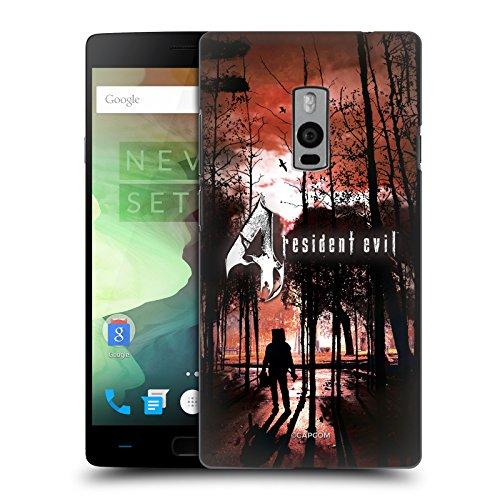 Head Case Designs Offizielle Resident Evil Poster Spiel 4 Schlüssel Kunst Ruckseite Hülle für OnePlus 2/OnePlus Two