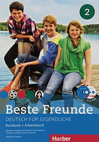 Beste freunde. Kursbuch-Arbeitsbuch. Con e-book. Con espansione online. Per la Scuola media. Con CD Audio e CD-ROM: 2