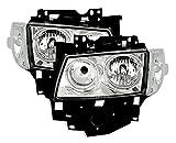 AD Tuning GmbH & Co. KG 960417 Angel Eyes Fernscheinwerfer Set, Klarglas Chrom