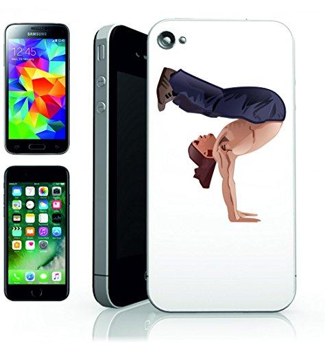 Smartphone Case Breakdance-B Boying della rottura di uomo di fitness palestra di allenamento di esercitazione di sport di Trainer di atleta di Jung per Apple Iphone 4/4S, 5/5S, 5C, 6/6S, 7& Samsun