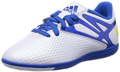 adidas Performance Buty Messi 15.3 In Junior Schuhkrallen & Eisspikes, Blau (Blue) 36.5 EU