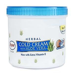 Ayur Herbal Cold Cream with Aloevera, 500ml