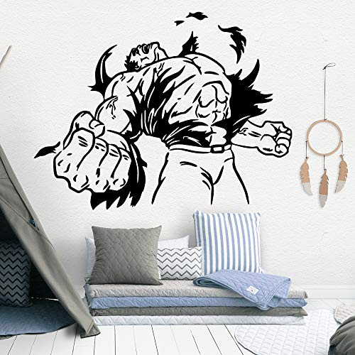 woyaofal Fiery Wall Decor Vinyl Wall s for Bedroom Kids Room Decoration Accessories Wall Decals Art Mural 116x150cm