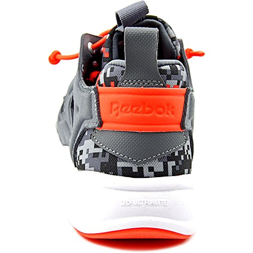 coal Alloy Textile Reebok red Graphic Laufschuh Damen Furylite gry OF0Ua0q