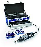 Dremel Platin-Edition 4000-6/128 Multifunktionswerkzeug (175 Watt, 128 Zubehöre, 6 Vorsatzgeräte, Aluminium-Tragekoffer)
