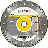 Bosch 2 608 602 397  - Disco tronzador de diamante Standard for Universal Turbo - 230 x 22,23 x 2,5 x 10 mm (pack de 1)