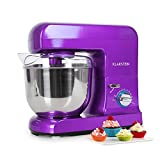 Klarstein Gracia Viola • Küchenmaschine • Rührmaschine • Knetmaschine • 1000 W • 1,3 PS...