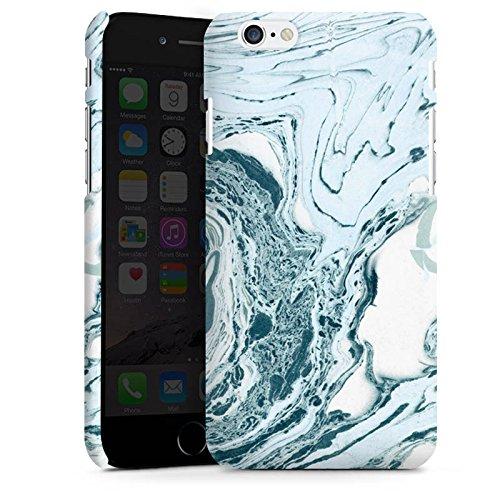 Apple iPhone X Silikon Hülle Case Schutzhülle Marmor Marble Marmoriert Premium Case matt