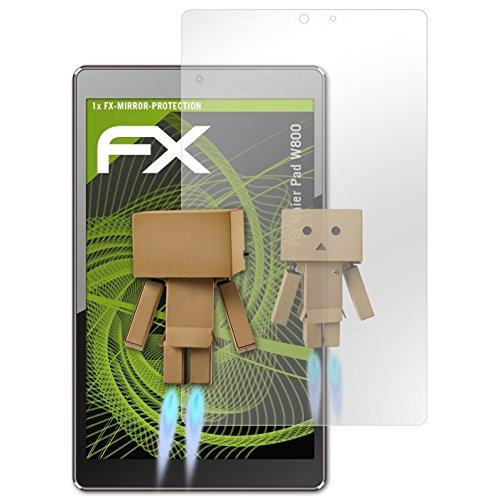 atFolix Bildschirmfolie für Haier Pad W800 Spiegelfolie, Spiegeleffekt FX Schutzfolie
