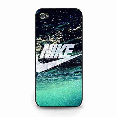 Cool Just Do It Nike Logo Coque,Just Do It Nike Logo Iphone 5C Case,Nike Coque Black Hard Plastic Case Cover For Iphone 5C