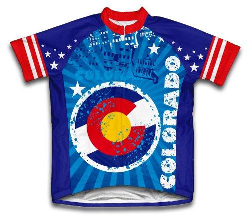 ScudoPro Herren Colorado Short Sleeve Radfahren Jersey, Herren, mehrfarbig