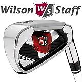 Wilson STAFF D100 GOLF IRON SET 5-SW +REGULAR STEEL SHAFTS RRP !!!!!!!