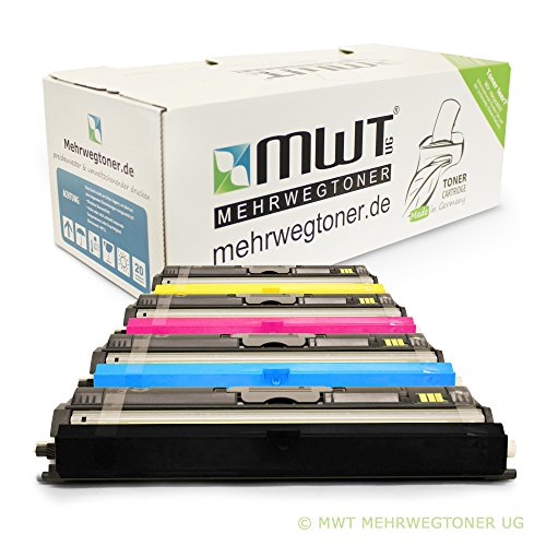 1600 Toner-kit (4x MWT Toner für Konica Minolta Magicolor 1600 1650 1680 1690 W EN mf DT D ersetzt)