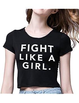 Pareja camiseta Camiseta Crop Top Mejor Amiga Blanco Negro Shirt Best Friend Impresión Redondo Regalo de Cumpleaños...
