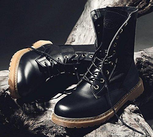Scarpe da ginnastica scarpe casual Scarpe da lavoro Oxford Scarpe da ginnastica in autunno e in inverno di HYLM black