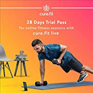 cure.fit 28 Days Pack for Online Fitness Sessions with cure.fit Live (First time User Only)