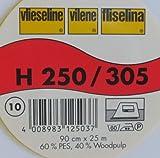 1 m stabile Einlage H 250 schwarz von Freudenberg 90 cm breit