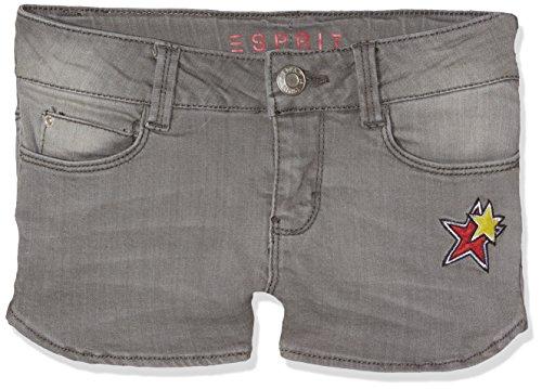 ESPRIT Mädchen Shorts RJ26025 Grau (Grey Denim 213), 164