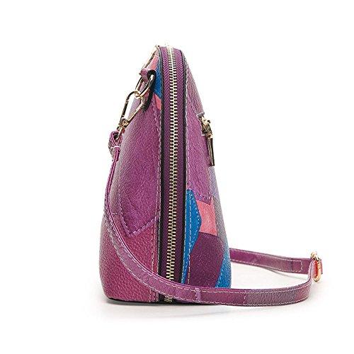 YUYO, Borsa a spalla donna Purple