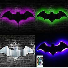 bb2e30c5104c DC Comics Batman logo Batman LED Lámpara de pared