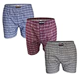 3er Pack Boxershorts ÖKOTEX Strickboxershorts aus 100% Baumwolle Größen 5-13 Öko Tex 100 Zertifikat Gr. 9 / 3XL