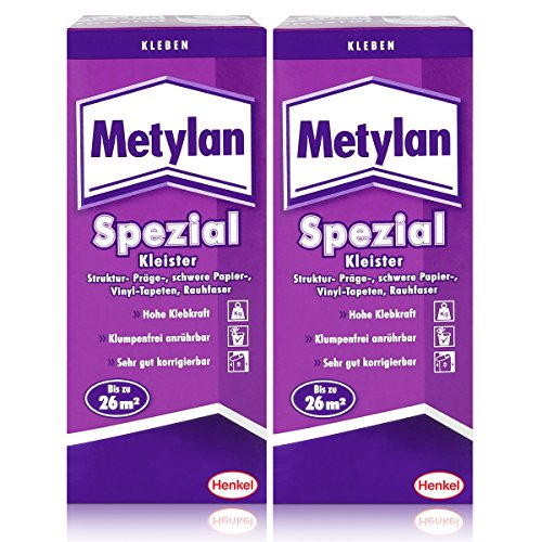 Henkel Metylan Spezial Tapetenkleister mit extra Power 200g ( 2er Pack )