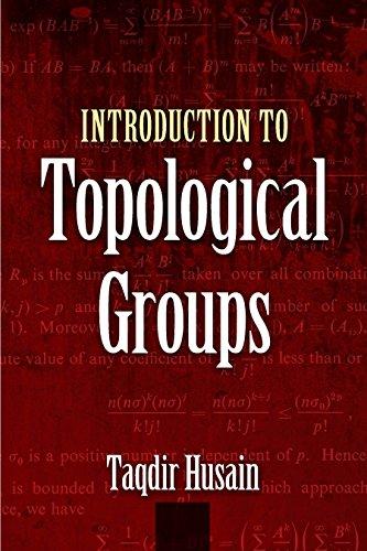 Introduction to Topological Groups (Dover Books on Mathematics) por Taqdir Husain
