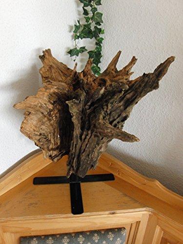 """Holzskulptur / Deko """" Wurzelstamm"""" aus altem bayrischem Hartholz"""
