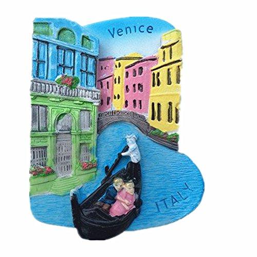 Venice Trevi-Brunnen Italien 3D Polyresin Kühlschrank Magnet, Haus und Küche Dekoration, Italien Souvenir Geschenk, Förderung Geschenk
