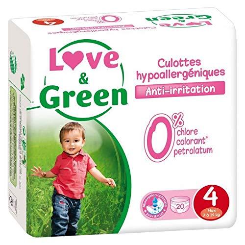 Tienda para comprar pañales ecológicos Love and Green