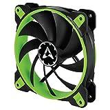 Arctic BioniX F120 - 120 mm Gaming Gehäuselüfter mit PWM PST, Case Fan mit PST-Anschluss (PWM Sharing Technology), Reguliert RPM synchron - Grün