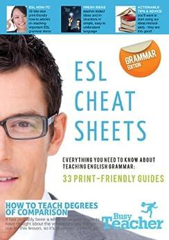 ESL Cheat Sheets: Grammar Edition (English Edition) de [Zakhareuski, Andrei]