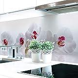 Küchenrückwand Orchidee Premium Hart-PVC 0,4 mm selbstklebend 280x51cm